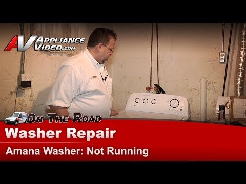 Amana Washer Diagnostic Repair - Will Not Run - NTW4700YQ1
