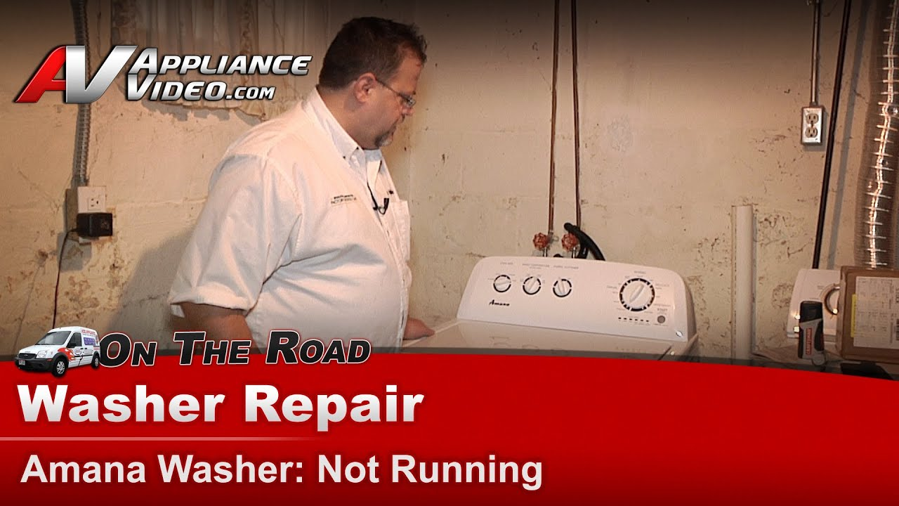 medium resolution of amana speed queen top load washer diagnostic repair will not run or start ntw4700yq1 youtube