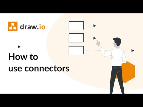 How To Use Connectors In Draw Io Diagrams Youtube