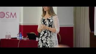 """Daniela Gioria relatrice all'evento """"Non arrendersi mai"""" per la classe di imprenditori di OSM"""