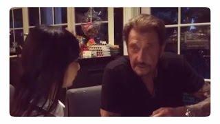 Johnny Hallyday incroyablement touchant avec sa fille