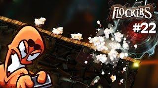 FLOCKERS: #022 - Sind da Worms? - Let's Play Flockers Deutsch / German