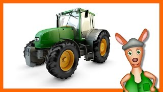 TRACTOR: Tractor videos for kids. Kids Videos. Preschool & Kindergarten learning.