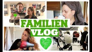 FAMILIEN ZEIT | Unterwegs mit Baby Philline | Stillen an der Autobahn & tolles Event | Linda
