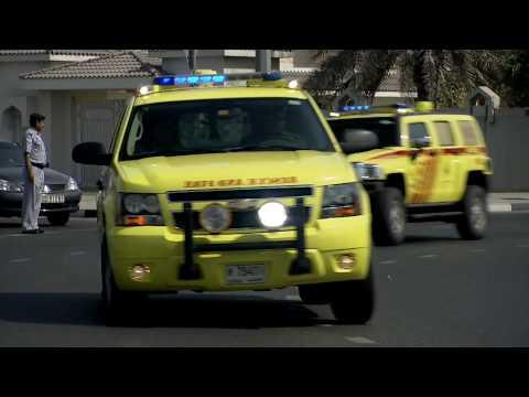 Dubai Emergency Vehicles