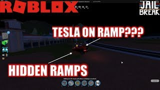 Roblox: JailBreak: Can cars other than Bugatti do ramp??? | SECRET RAMPS
