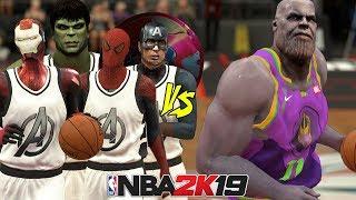 The Avengers Vs Thanos In NBA 2K19!