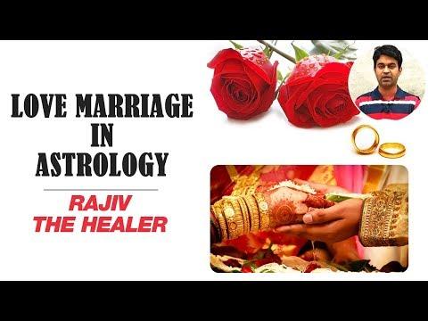 Love Marriage In Astrology | Rajiv The Healer