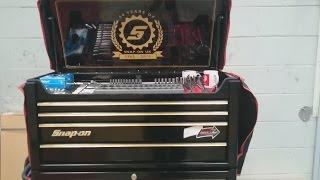 Snap on tool box tour - Apprentice box