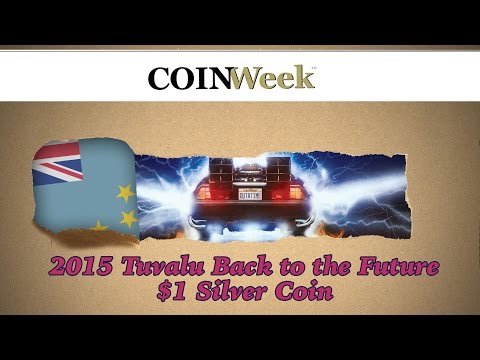 CoinWeek Unboxing: Tuvalu 2015 Back to the Future $1 Silver Coin - 4K Video