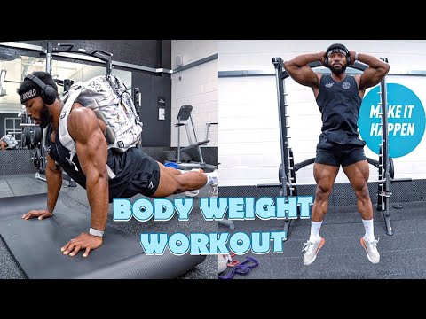 FULL BODY HOME WORKOUT | No Equipment, Bodyweight Workout
