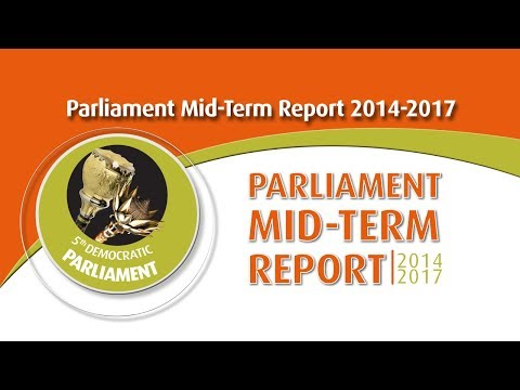 Radio show Midterm Briefing by the Presiding Officers of Parliament