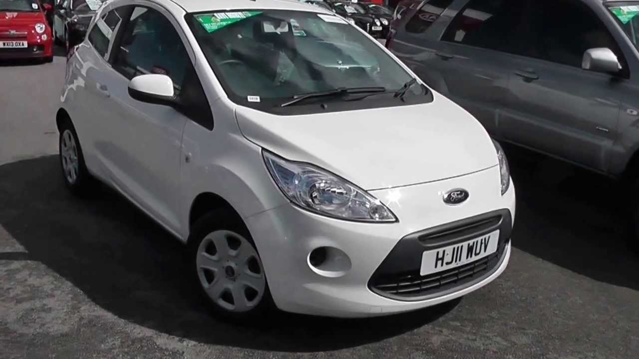 used car ford ka edge white hj11wuv wessex garages. Black Bedroom Furniture Sets. Home Design Ideas
