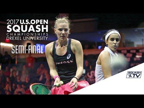 Squash: Women's Semi-Final Roundup - U.S. Open 2017