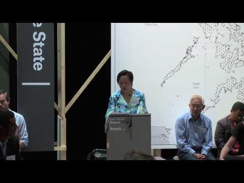 New World Summit: Stateless State. Coni Ledesma (Nat. Dem. Front of the Philippines & MAKIBAKA)
