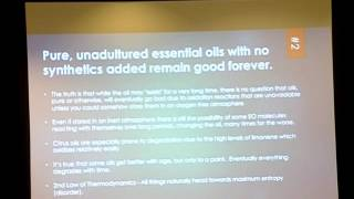 Essential Oil Myths - Dr. Robert S. Pappas