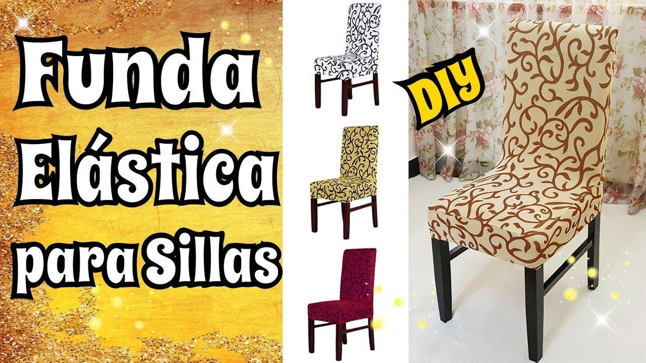 Tutorial como hacer funda el stica para sillas diy costura - Fundas elasticas para sillas ...
