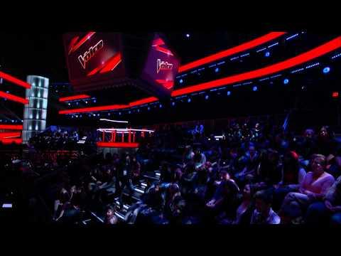 The Voice Finale Cristina Aguilera and Pitbull rehearsal June18 2013