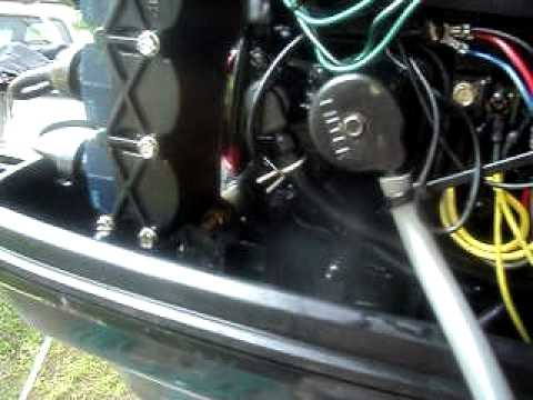 force 70hp running
