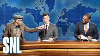 Weekend Update: Supercentenarian Mort Fellner Returns - SNL