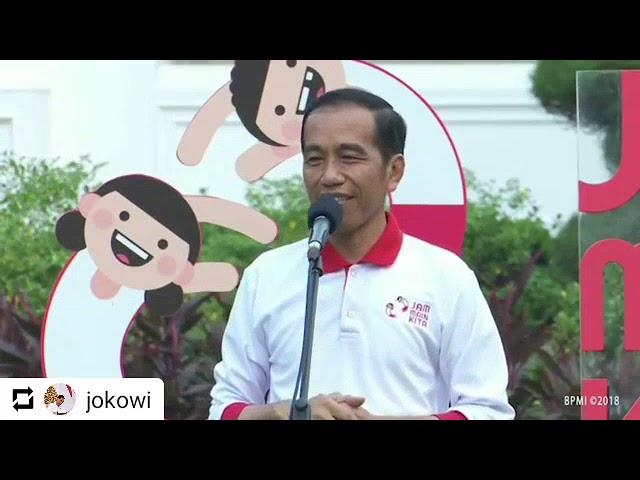 LPAI - Jam Main Kita Bersama Presiden RI Bpk. Ir. Joko Widodo