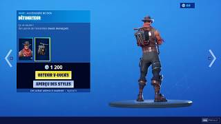 NEW SKIN RIO GRANDE BOUTIQUE 06 AUGUST 2019 FORTNITE BATTLE ROYAL / ITEM SHOP 06/08/19 FORTNITE
