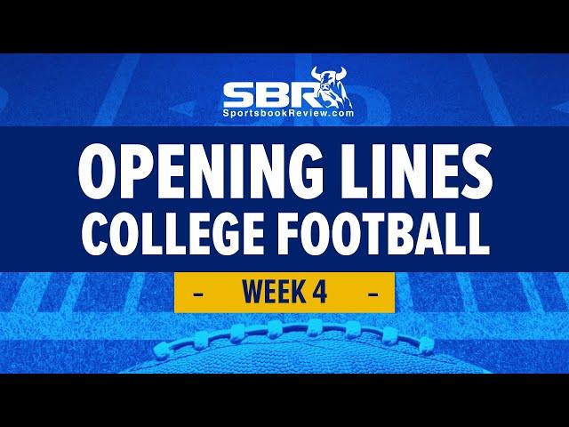 College Football Week 4 Preview! | NCAAF Games Picks & Predictions