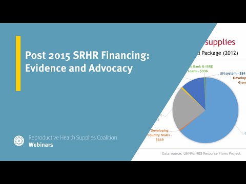 Post 2015 SRHR Financing: Evidence And Advocacy
