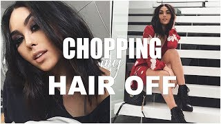 CHOPPING MY HAIR OFF | Roxette Arisa Vlogs