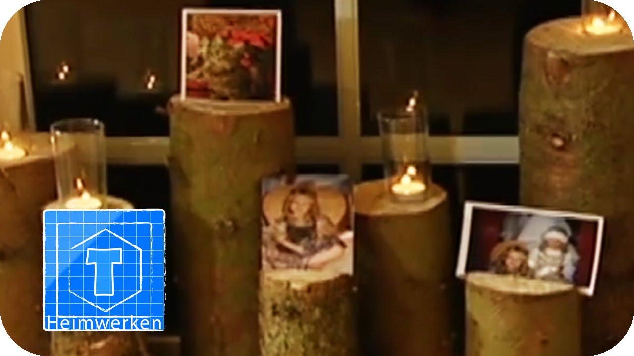 dekotipp f r weihnachten fensterdeko mit tannenkr nzen und mobile youtube. Black Bedroom Furniture Sets. Home Design Ideas