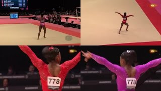 Simone Biles: Floor World Championships 2015