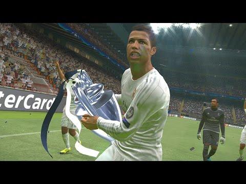 PES 2016 - UEFA Champions League Final - Real Madrid vs Barcelona (PS3/X360 GAMEPLAY)