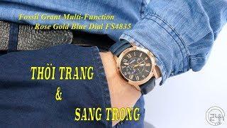Review Đồng Hồ Chính Hng Fossil Grant Multi-Function FS4835 [dongho24h.com]