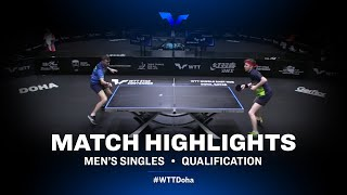 Kirill Skachkov vs Florent Lambiet | WTT Star Contender Doha 2021 | MS | QUAL Highlights