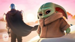 MANDALORIAN BETRAYS BABY YODA... (A Fortnite Short Film)