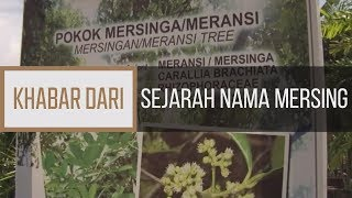 Khabar Dari Johor: Sejarah nama Mersing