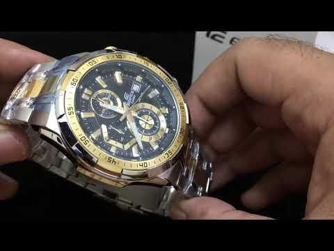 Casio EFR-539SG-1AV Edifice Refurbished Watch Showcase