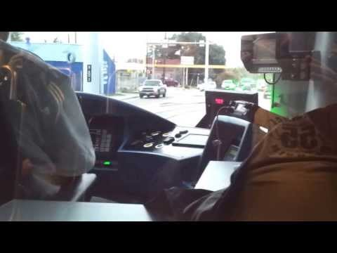 Houston Metro Rail Red Line Extension Grand Opening - Cab Ride Part 1