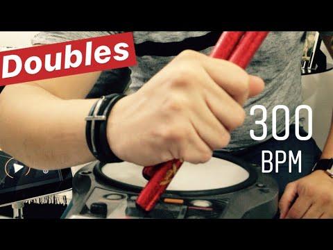 300 BPM Double Stroke Roll - Jonathas Alves