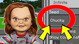 "NEVER Play Minecraft The CHUCKY WORLD! (Haunted Scary ""Chucky"" Seed)"