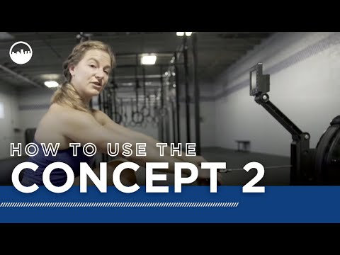 How to use Concept 2 Rowing machine