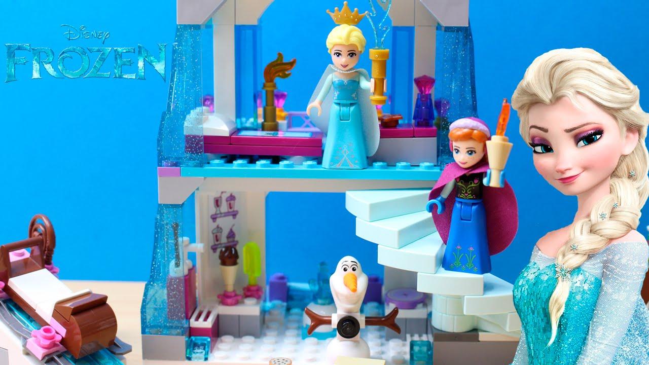 Castillo ElsaLego Frozen Disney Hielo Juguetes El Princesas Brillante De QdxhtCsr