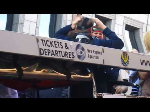 2013 Red Sox Championship Parade- Jonny Gomes.