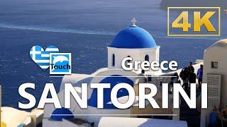 Санторини Греция ► Видеогид 63 мин. Обзор 4K