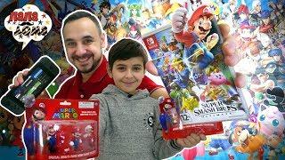 МАРИО С ПОКЕМОНАМИ! Папа Роб и Ярик играют в Super Smash Bros. Ultimate в реальной жизни!