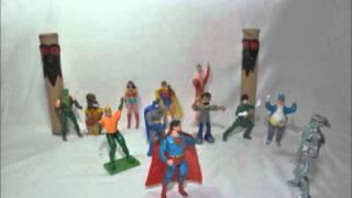 Super Man Sumiu- Stop motion