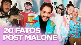 POST MALONE: ANTES DA FAMA, TATTOOS, TROLLADO PELO BIEBER, ESTREIA NO CINEMA... | Foquinha Video
