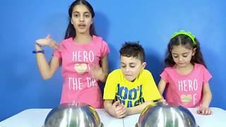 Chocolate Food vs Real challenge with HZHtube Kids Fun !