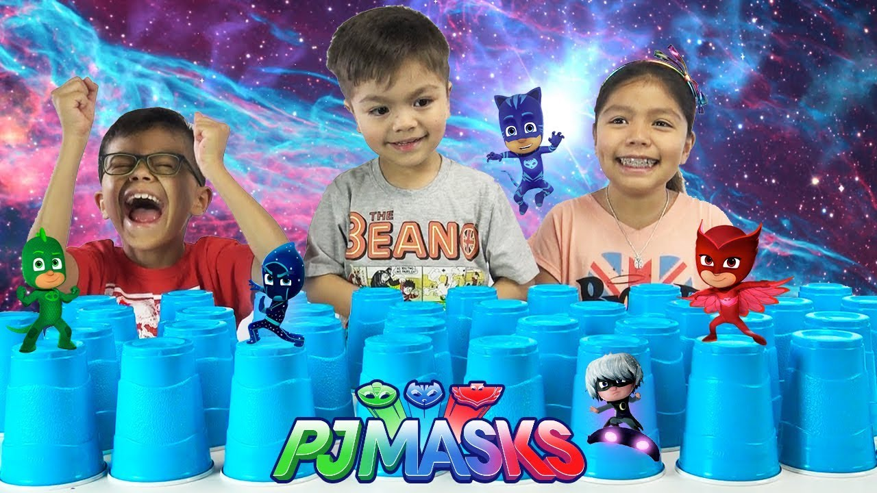 PJ Masks Surprise Cups Challenge RARE PJ Masks Toys