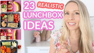 23 REALISTIC AND HEALTHY LUNCHBOX IDEAS FOR KIDS